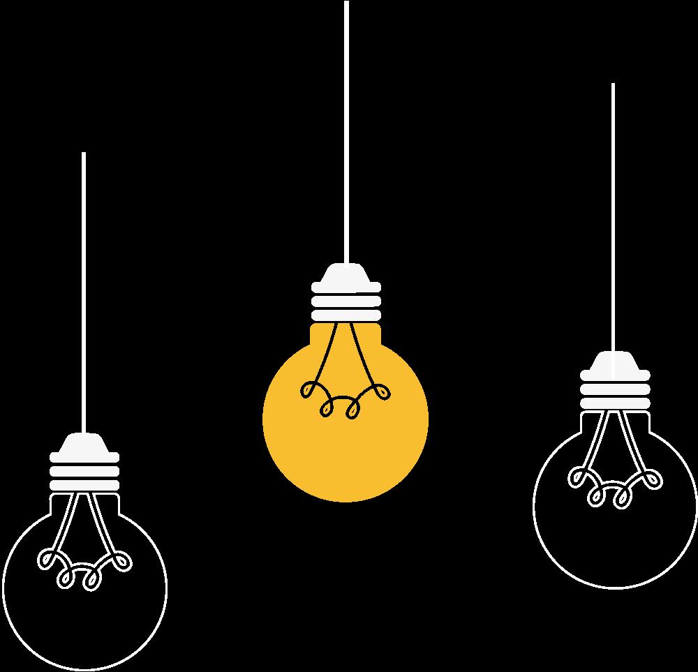 Obrázok žiarovky na domovskej stránke