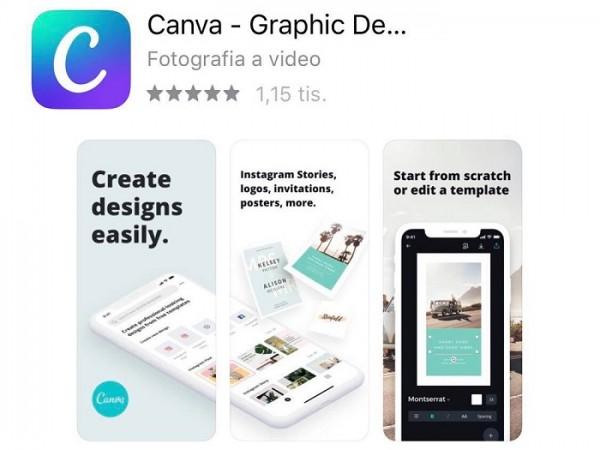 Obrazok aplikacie Canva