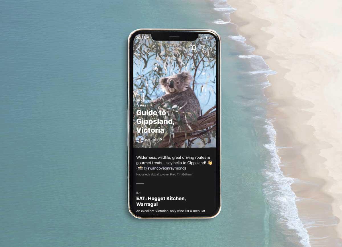 Tourism Australia Instagram Guides