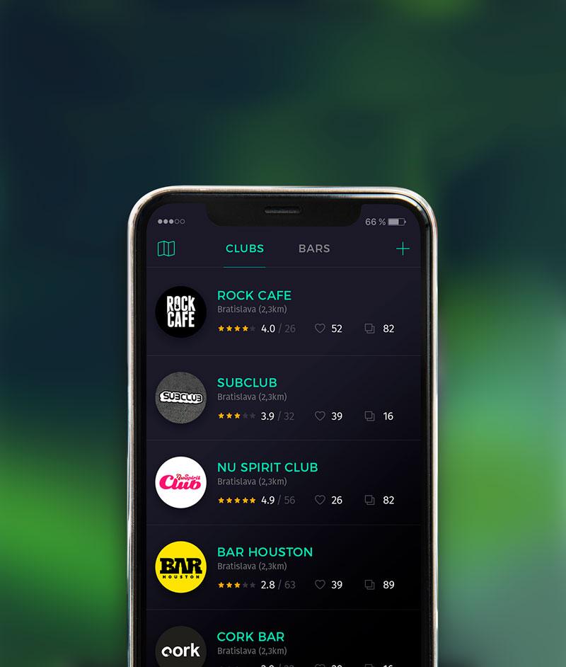 Nili mobilná aplikácia screenshot