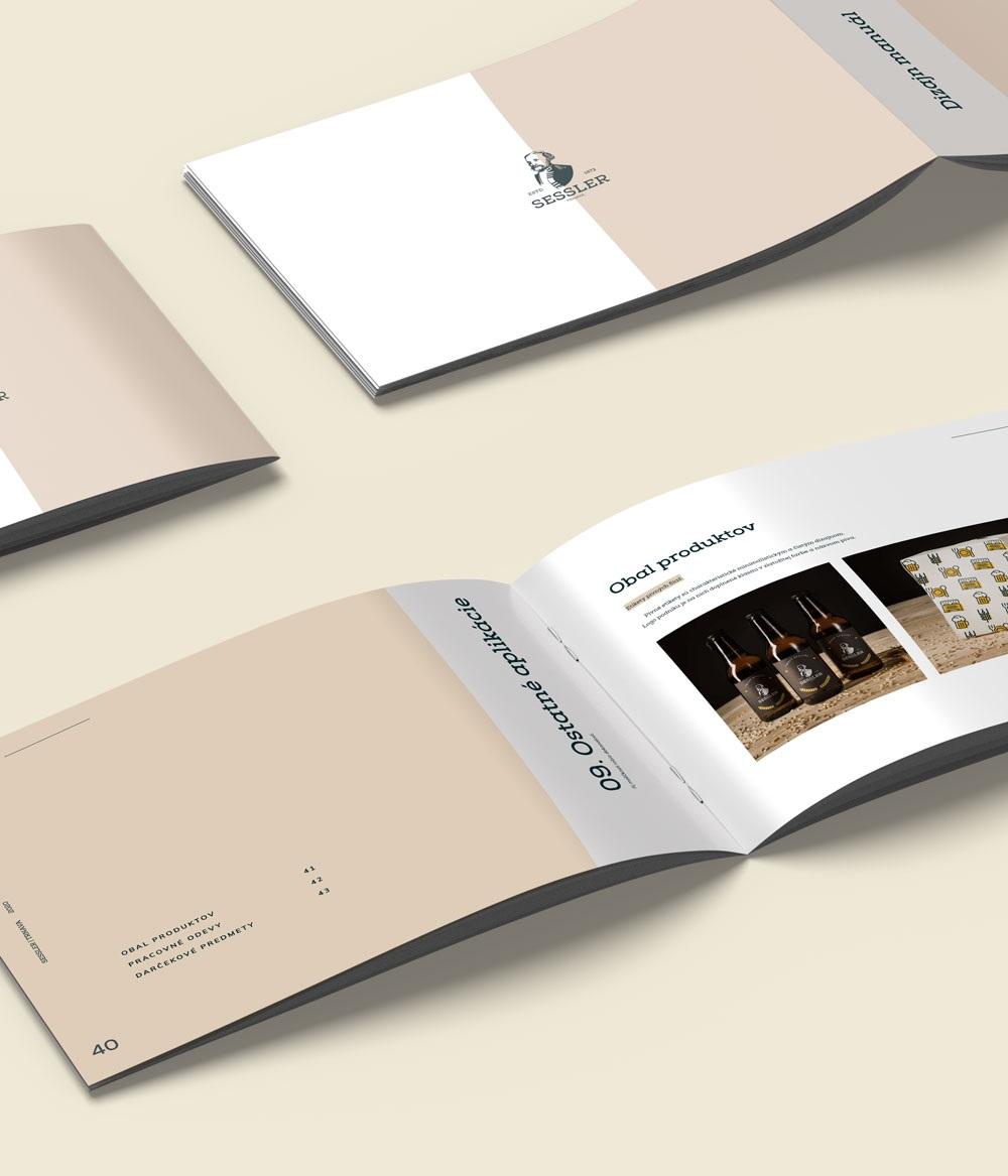 Dizajn manual pre Sessler s.r.o.