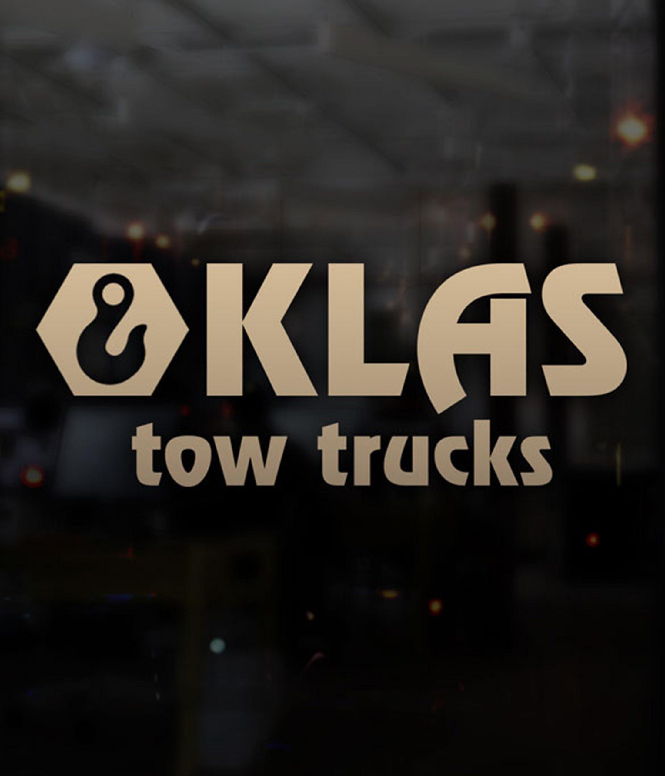 Logo Klas Tow Trucks